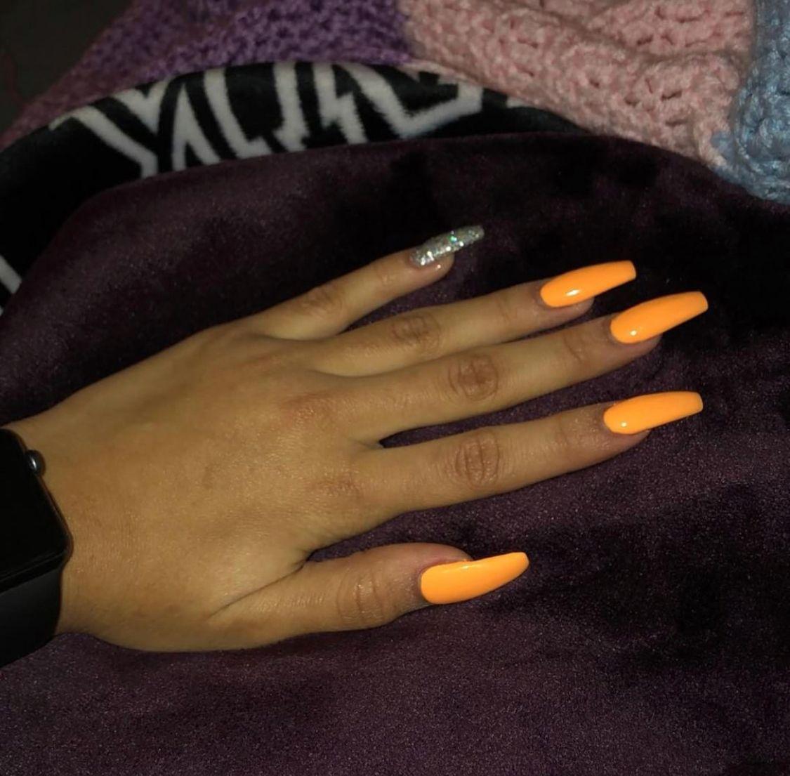 Pin By Autumn Gibbs On Nail Ideas Long Acrylic Nails Perfect Nails