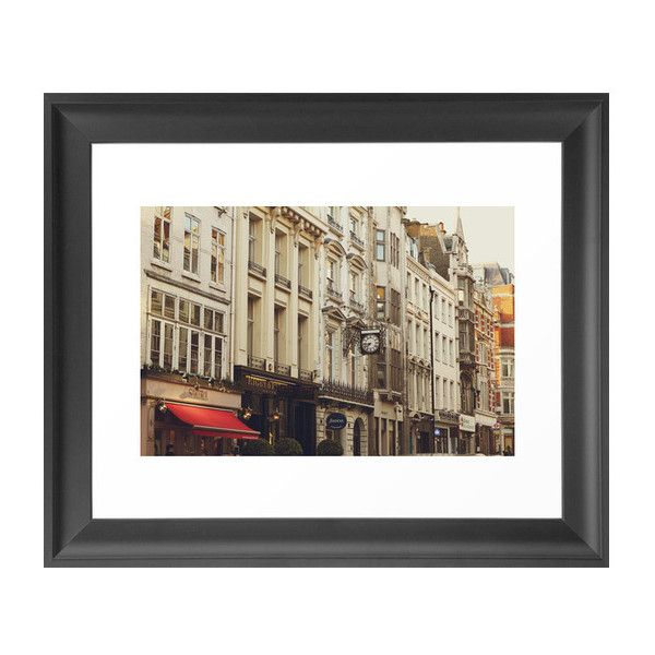 Dot & Bo Portman Village Art Print ($32) ❤ liked on Polyvore featuring home, home decor, wall art, european home decor, london wall art and wall street art