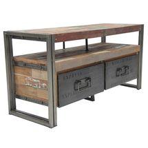 Loft Storage TV Stand