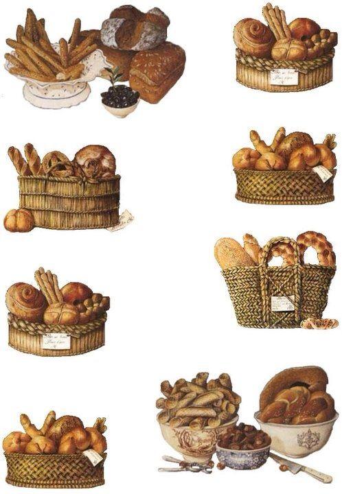 картинки для декупажа хлебные считают