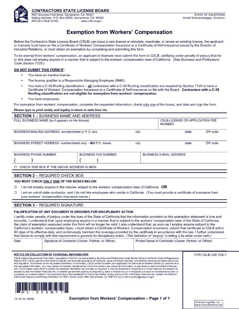 workers compensation claim form Worker, Compensation