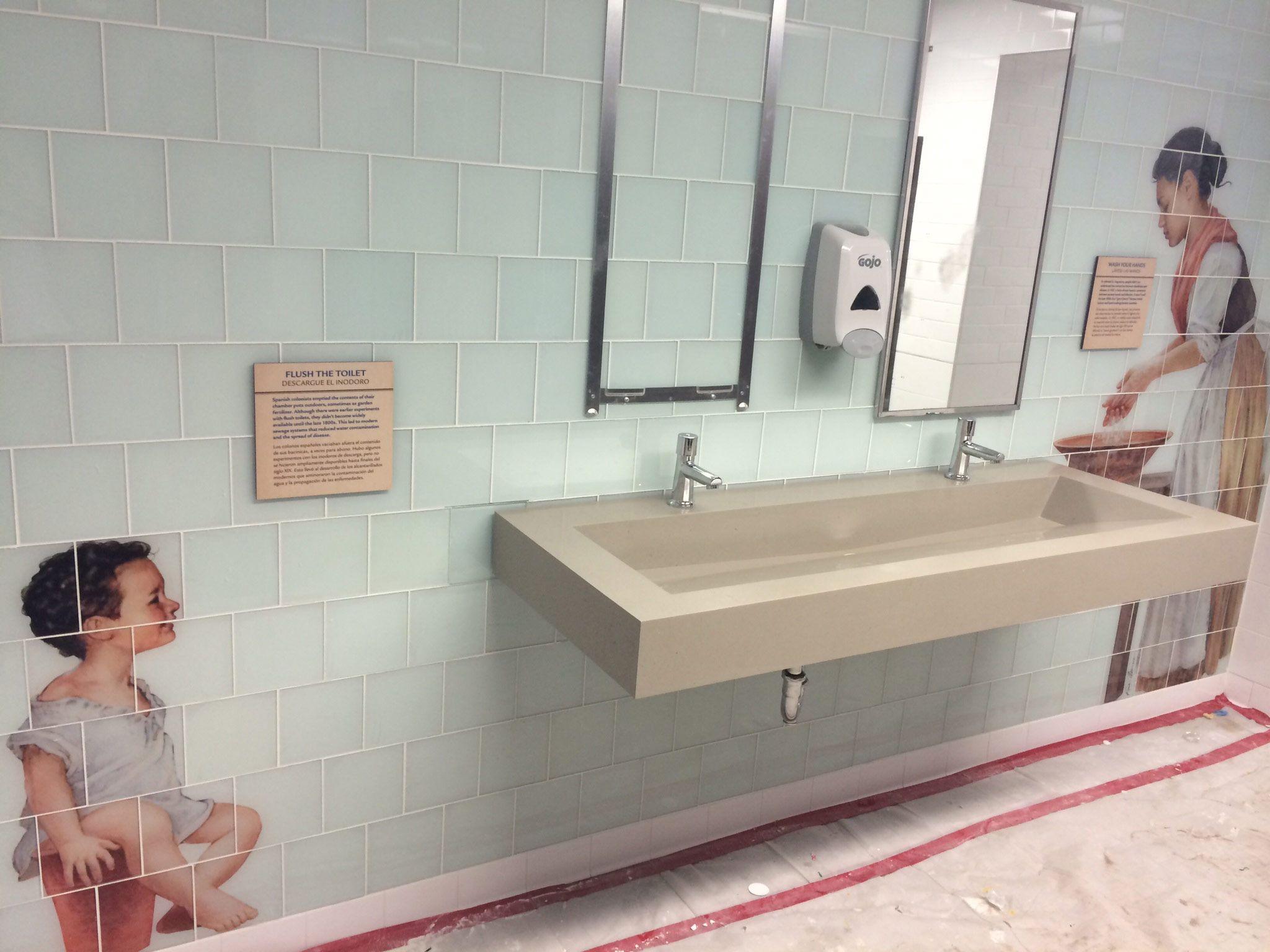 Glass Tile Mural Custom Printed Tiles for Bathroom Tile Mural In