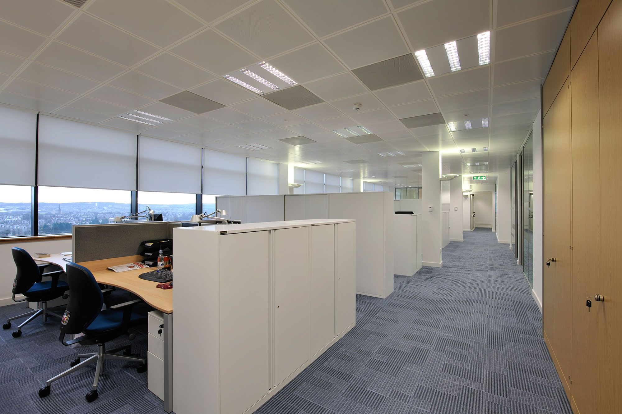 office space working closely with a steering group of partners