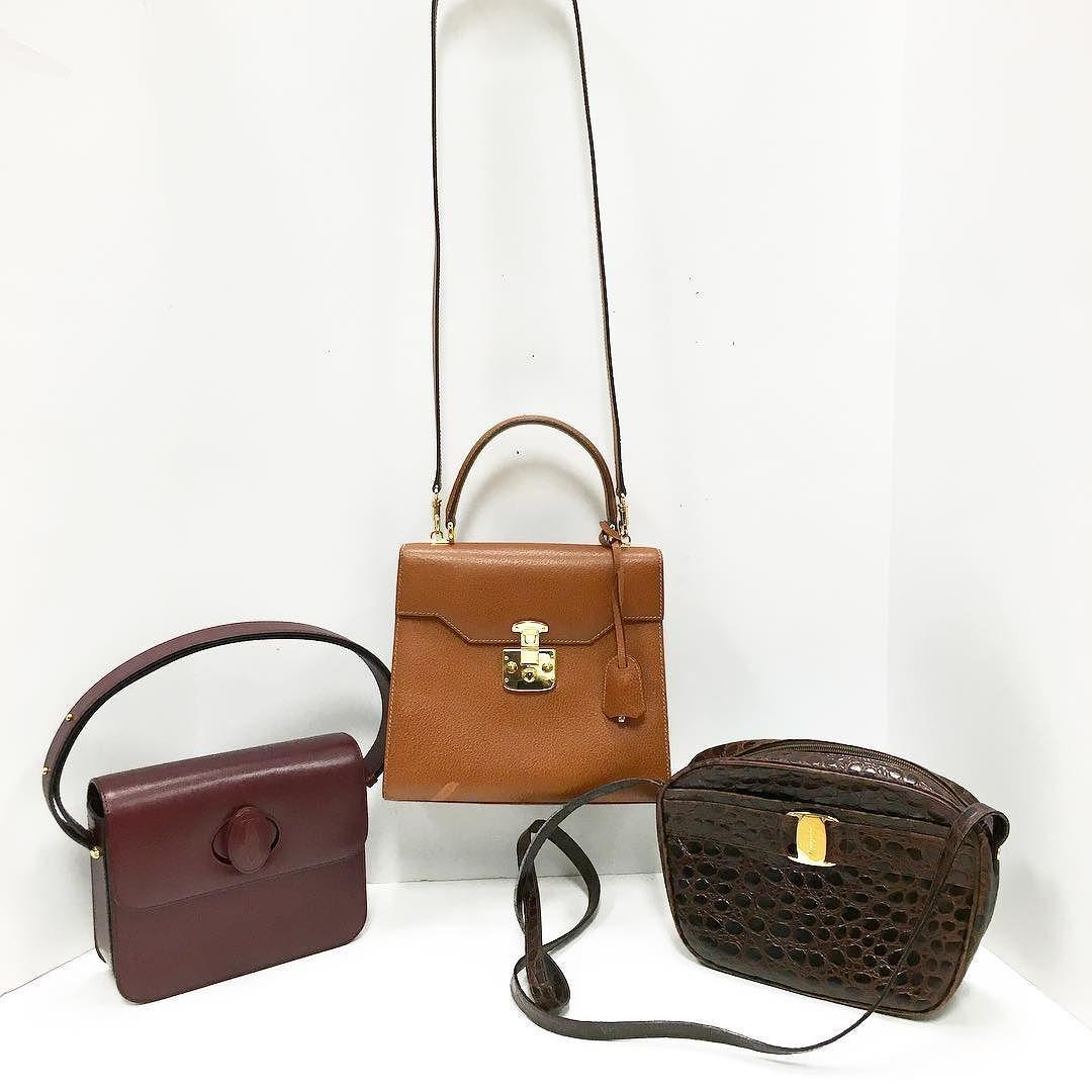 780fe1475870 Vintage Designer Handbags at Buckhead (MIDDLE) Title: Vintage Gucci Top  Handle Structured Handbag