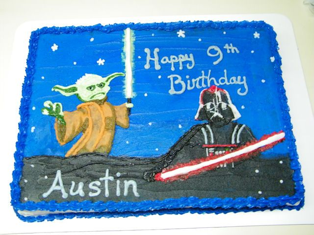 Cakes4Kids Babies Pass The Cake Star Wars party Pinterest