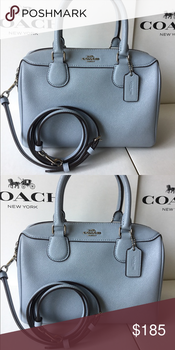 b8a5bd8399 🌷Coach Mini Bennett Satchel In Signature NWT. ✅ The bag is brand new and