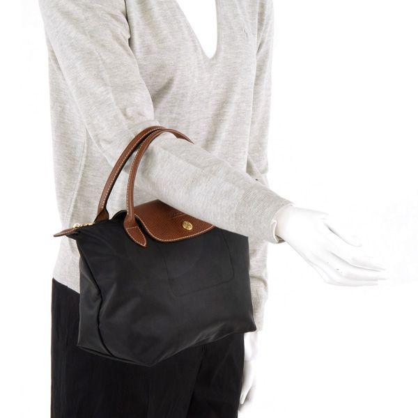 Longchamp Le Pliage Small Handbag View 3 -- $100 at magnums.net