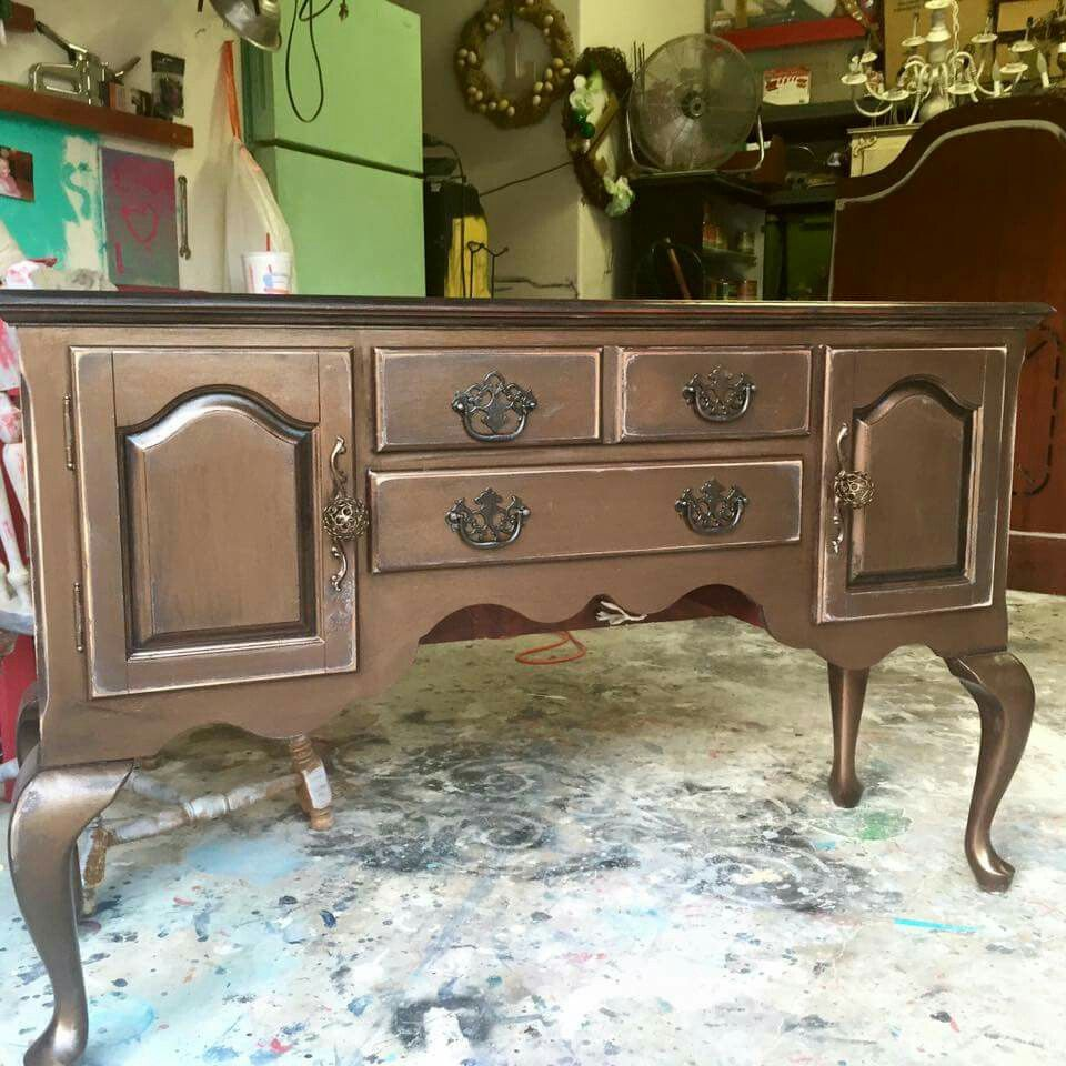 General Finishes Pearl Effects Furniture Restoration
