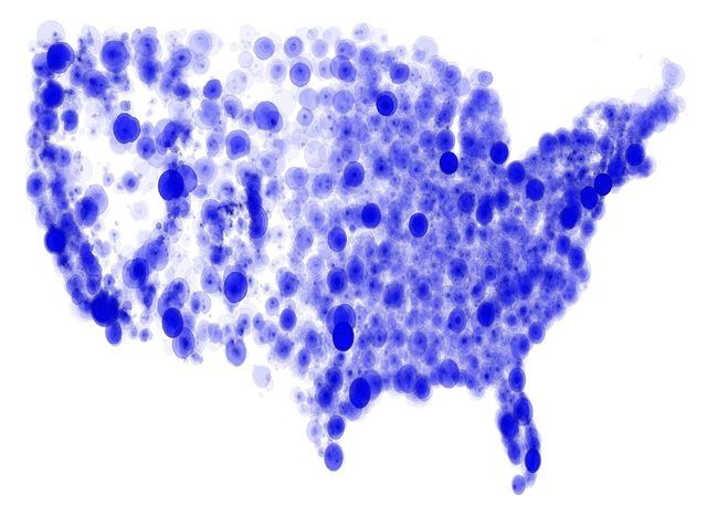 The Coverage Of Fm Radio Stations In Us Map By Jradavenport Rhpinterest: Map Fm Radio At Gmaili.net