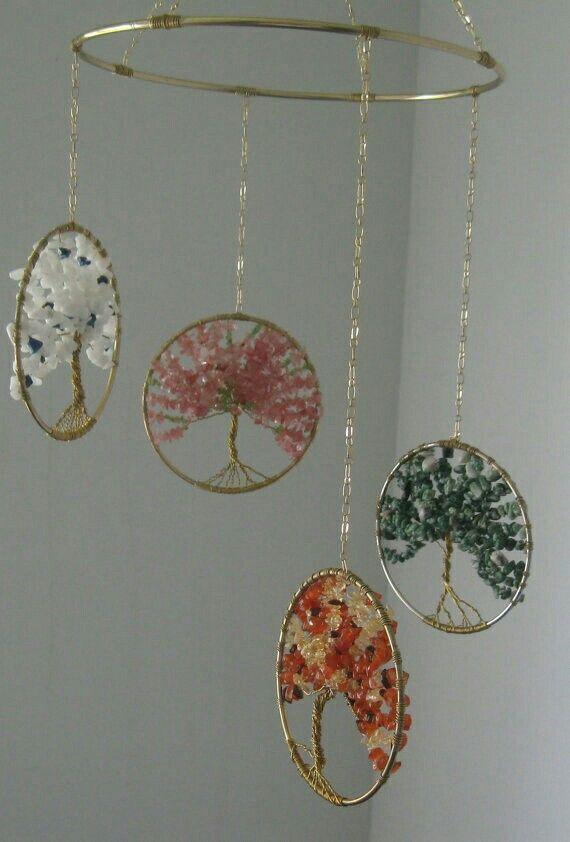 Pin de Hellen Rose en Jewelry Design: Beaded Tree, Tree of Life ...