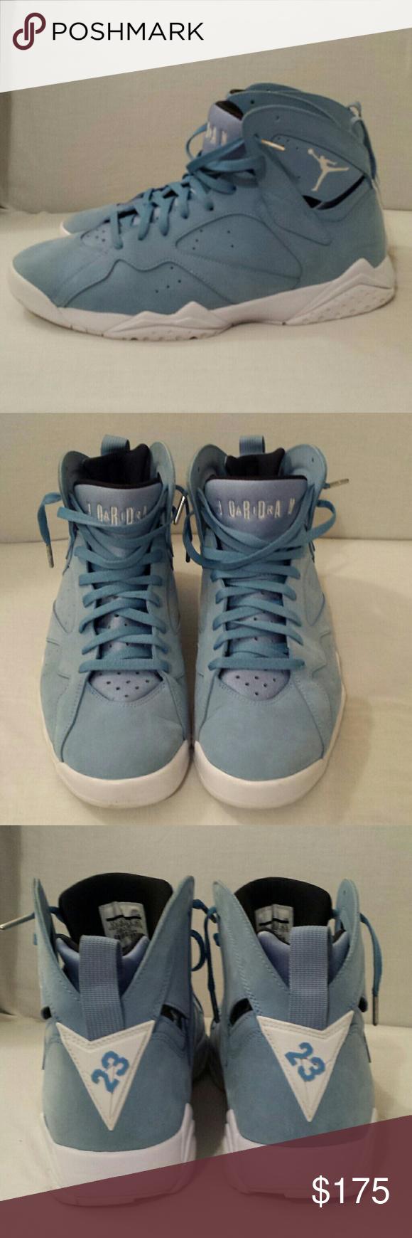 Air Jordans 7 Retro Pantones Size 11.5 Authentic Used In