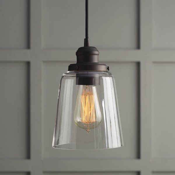 1 light mini pendant polished lookmodern lightinglighting
