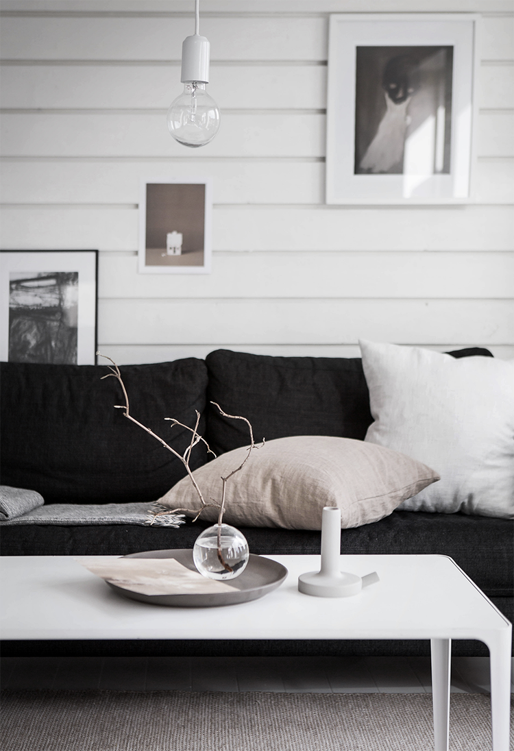 The Weekend Living Room Scandinavian Scandinavian Design Living