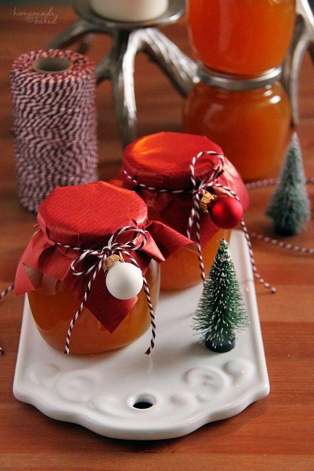homemade and baked Food-Blog {Geschenke aus der Küche - geschenke für die küche