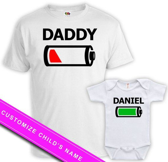 New Dad Gift Daddy And Son Father And Daughter Shirt Dad And