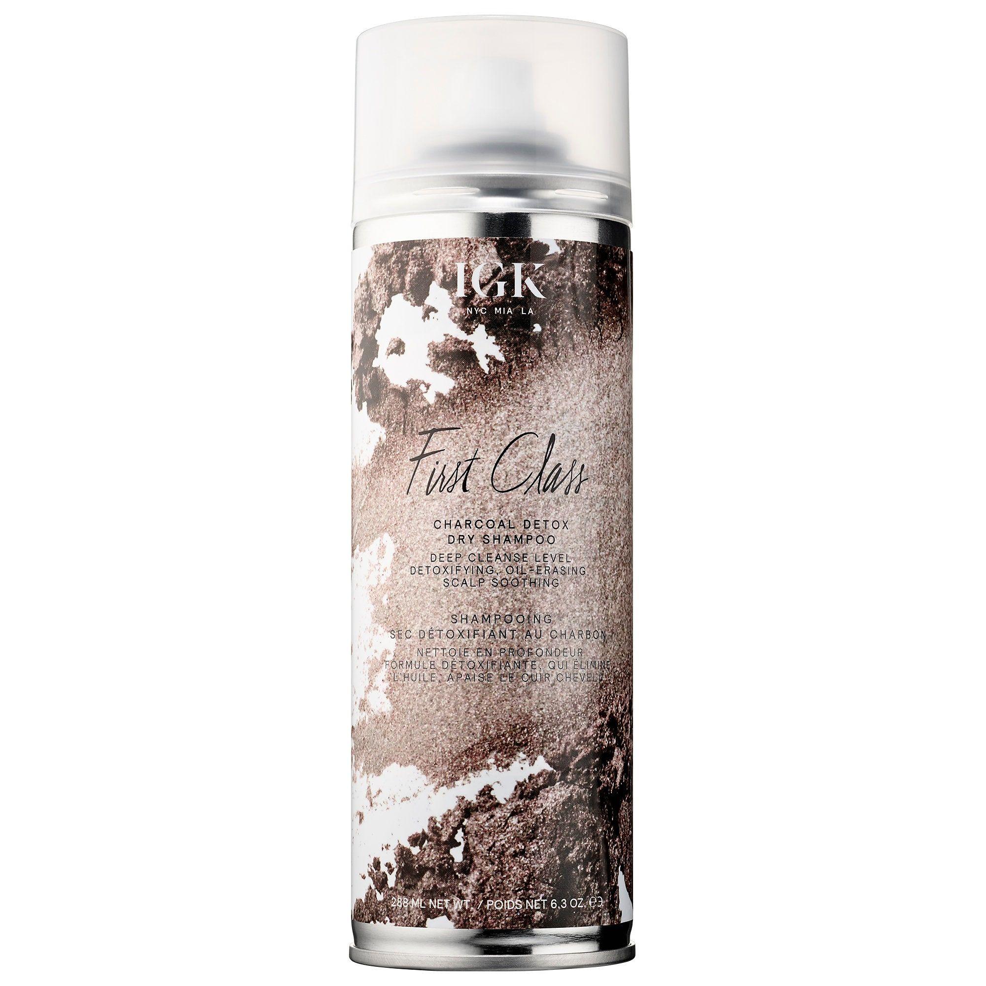 First Class Charcoal Detox Dry Shampoo Igk Sephora Dry Shampoo Charcoal Detox Good Dry Shampoo
