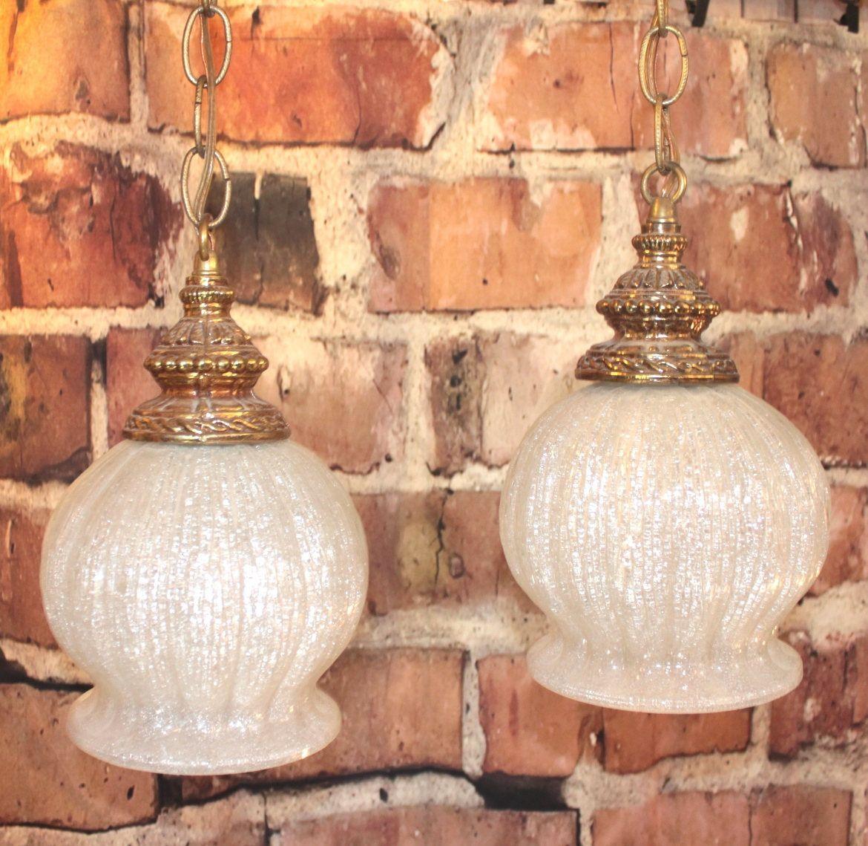 Swag Lights Lamps Hollywood Regency