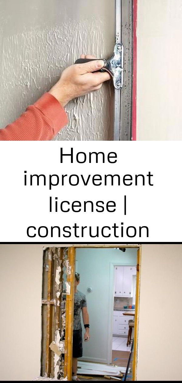 Home Improvement License Construction General Contractor Home