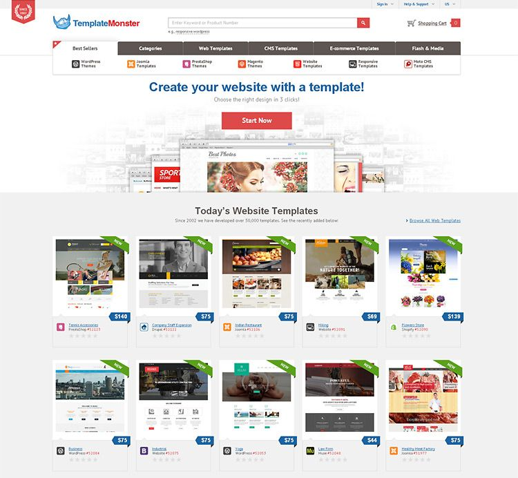 TemplateMonster.com — over 50,000 web templates and themes to choose ...