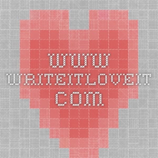 www.writeitloveit.com
