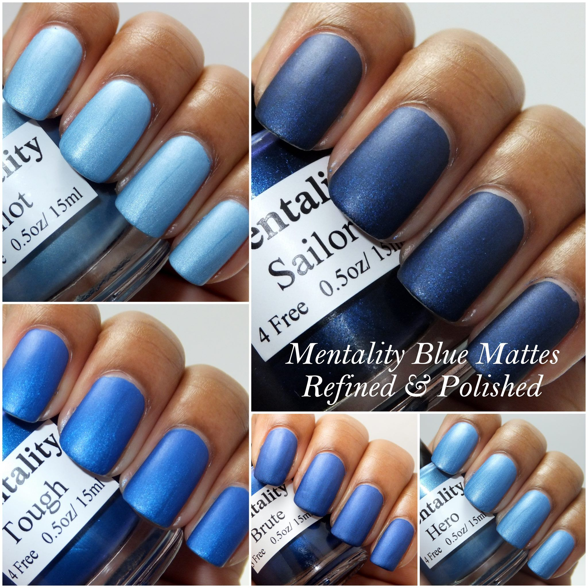 Mentality Nail Polish - Featuring the Pink Matte