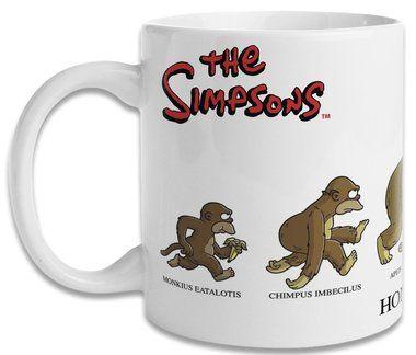 Caneca Os Simpsons Homersapien