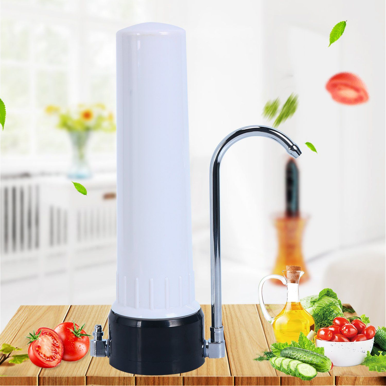 Homend Countertop Drinking Water Filtration System Countertop Water Purifier Filter Drinking Water Clean Purifier Drinking Water Kitchen Faucet Water Purifier