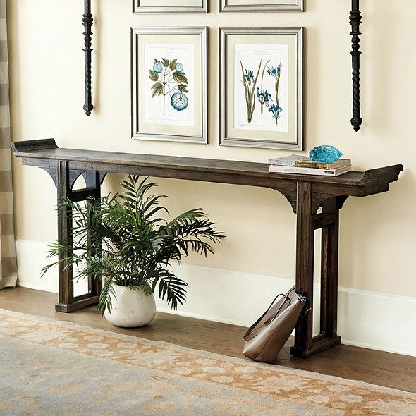 Ananda Console Table Foyer Decorating Serving Table Dining Room Small