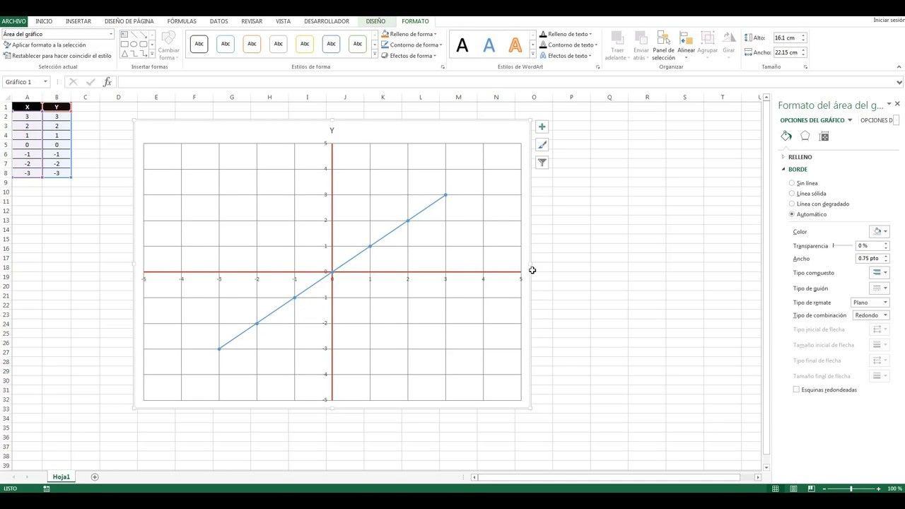 Plano Cartesiano Archivo Incluido Excel 2013 Make It Yourself