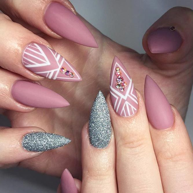 Por Stiletto Nails Designs From Pinterest That Will Catch Your Mind See More Https