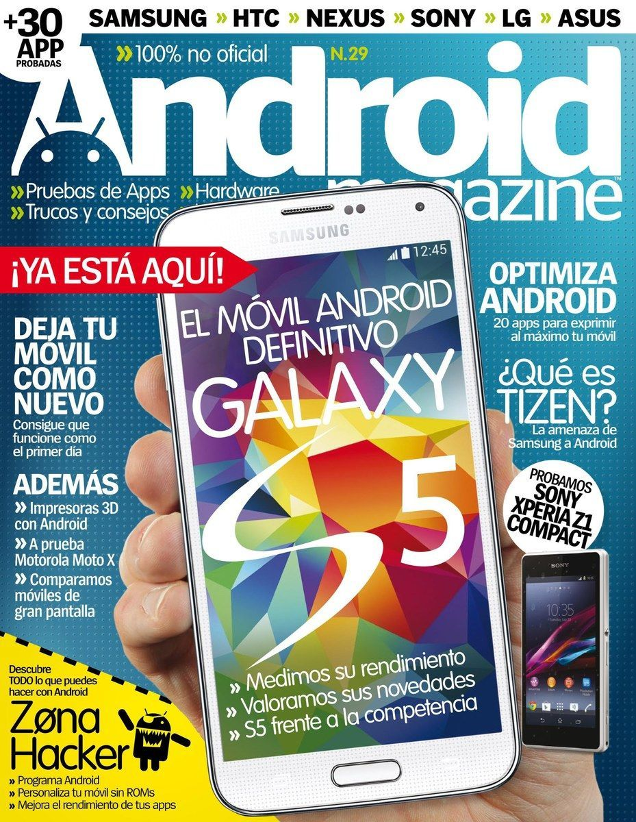 #Android Magazine  29. El móvil Android definitivo: #Galaxy S5.