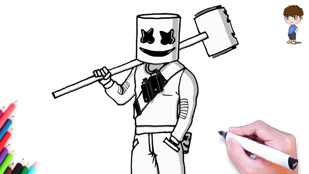 Imagenes Para Dibujar Facil Buscar Con Google Skin Drawing How To Draw Steps Fortnite