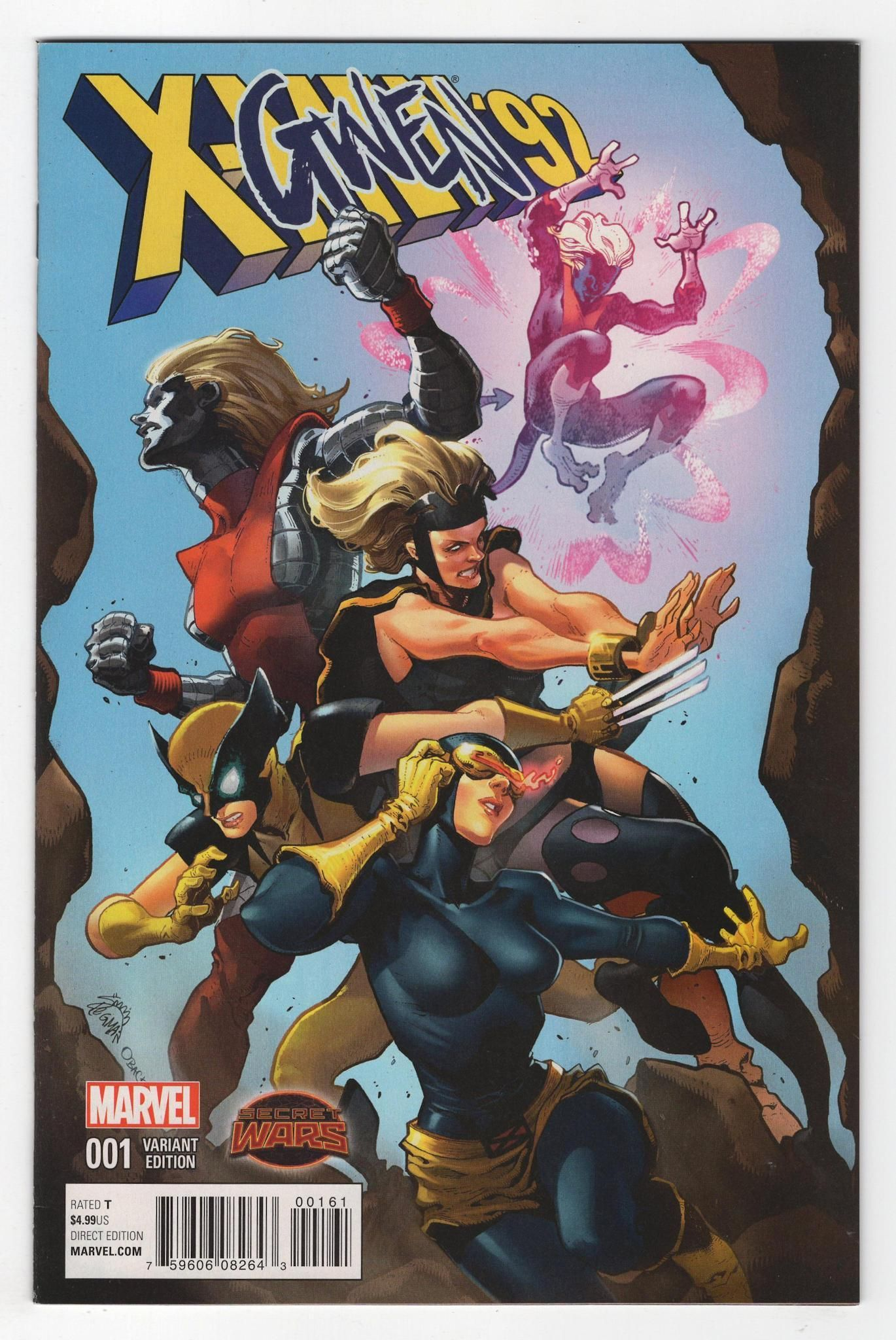 X Men 92 1 Ryan Stegman Variant Cover 2015 Marvel Comics Art Marvel Heroes Marvel Comics