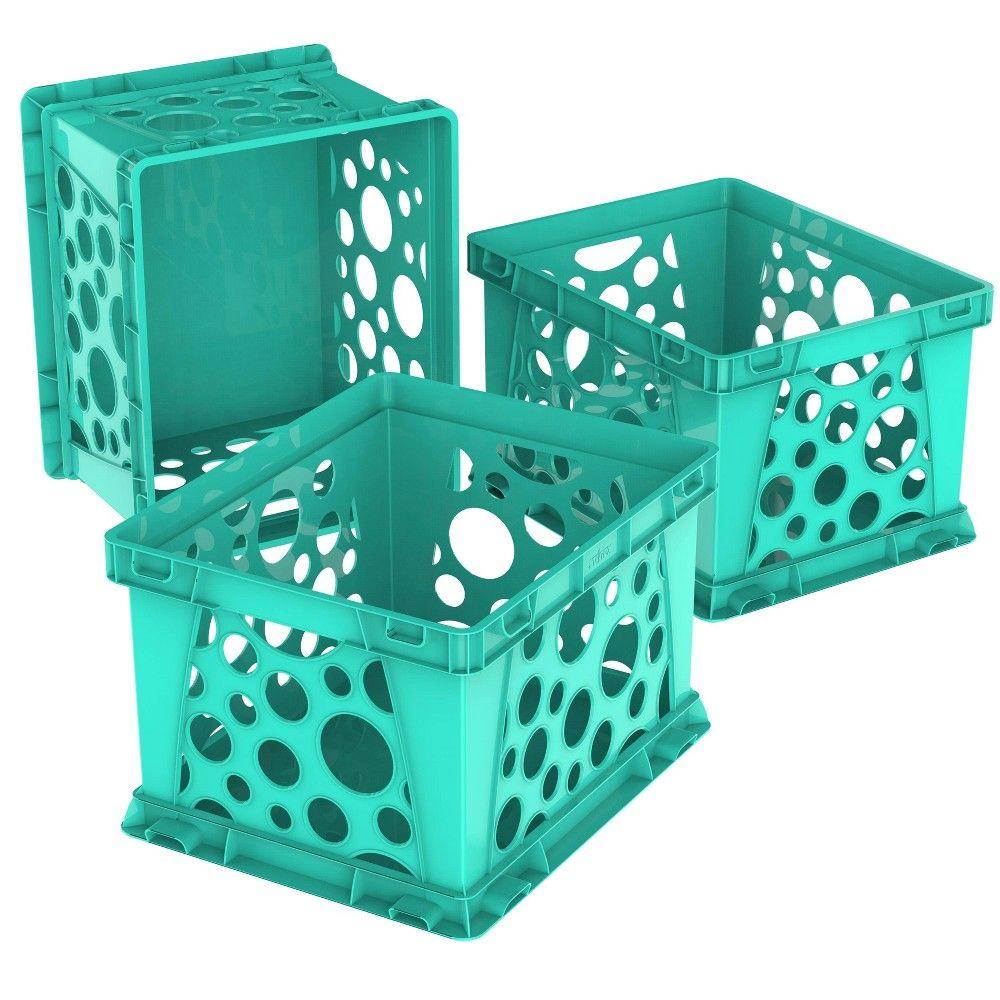 Storex Crates Crate Storage Plastic Box Storage