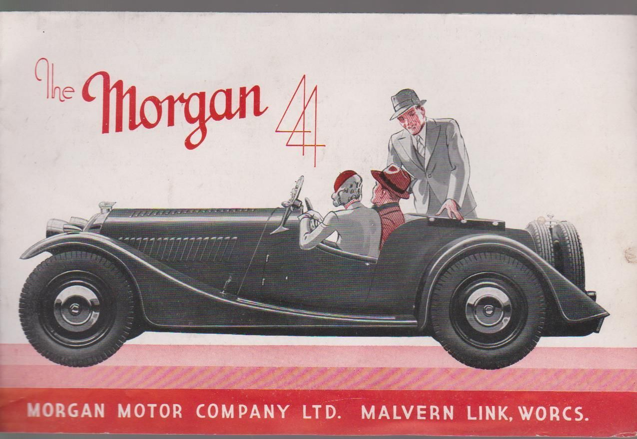 Vintage 1940\'S Original Morgan 4 4 Advertising Brochure Price From ...