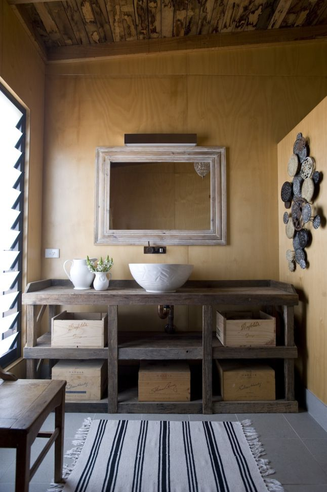 Inspiration campagne en Australie Bathroom Pinterest Vanities