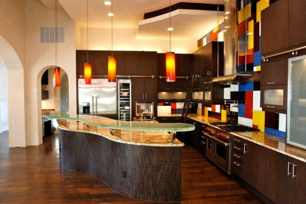Exquisite Kitchen With Stunning Cabinets And Granite Countertops