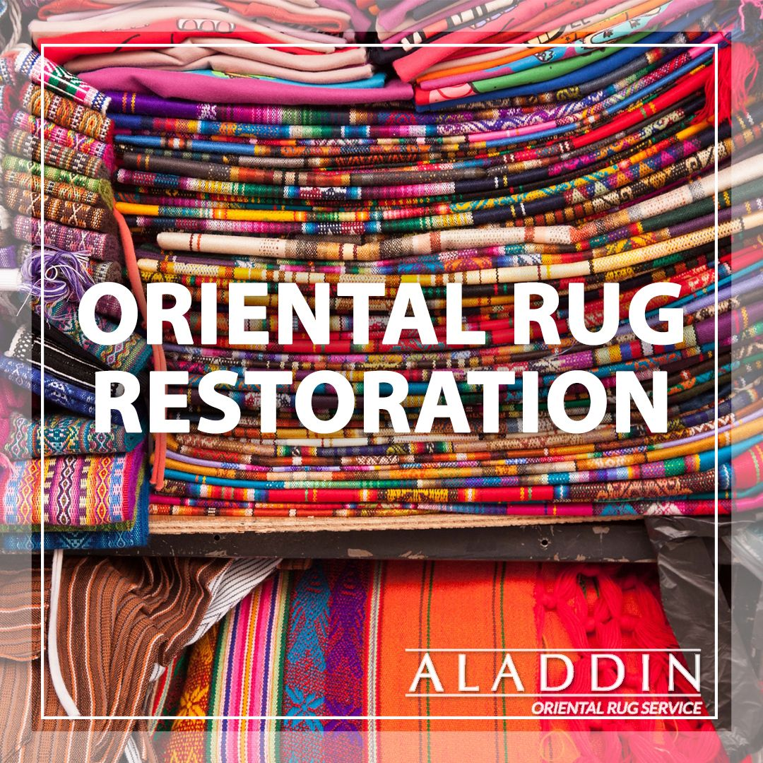 The rug experts at Aladdin can restore your oriental rug to look good as new! (732) 456-5511 #RugRestoration #OrientalRugRestoration #NJOrientalRugRestoration #OrientalRugRestorationNJ #NJRugServices