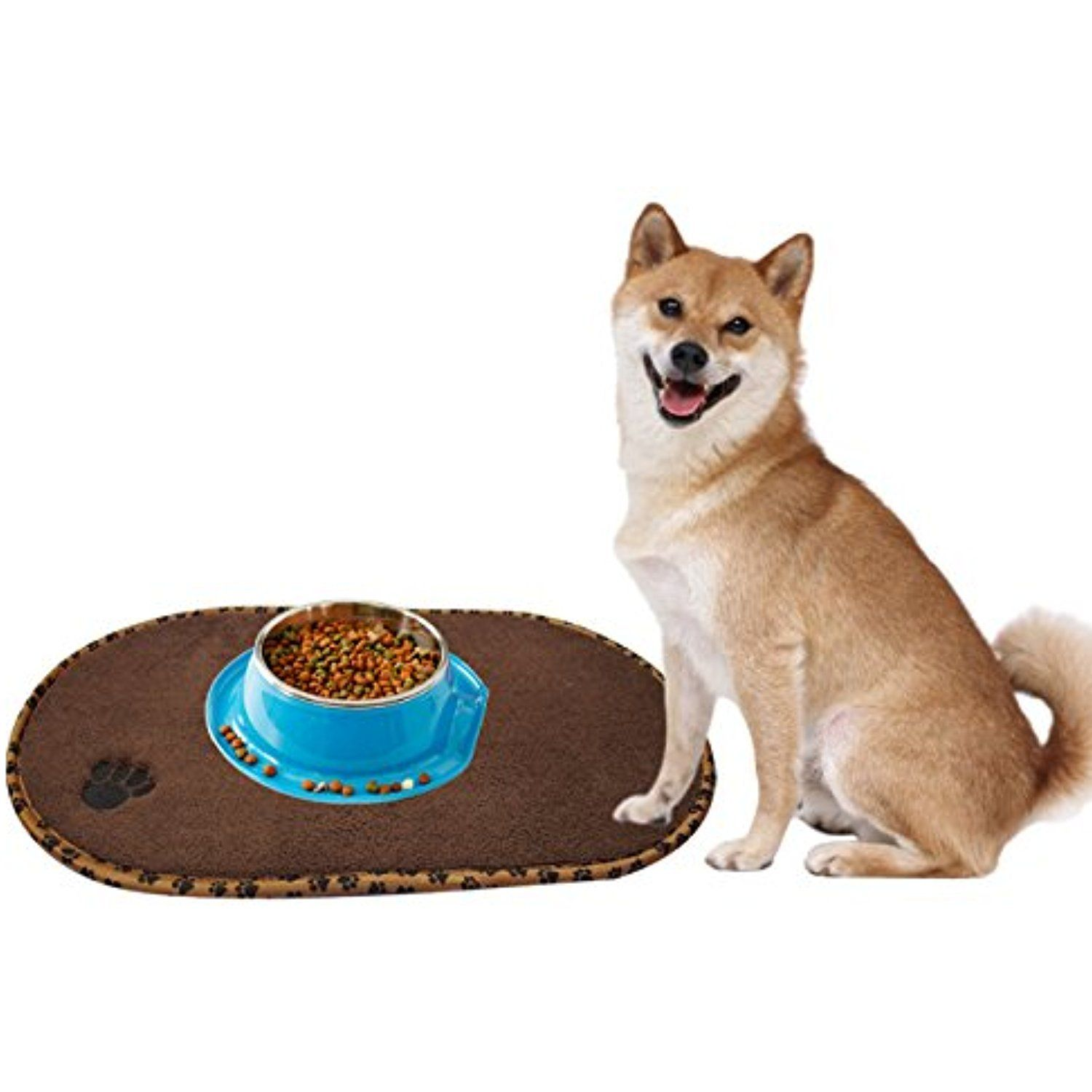 mats crop waterproof either light dog tray for pet feeding cats bowl non cat dogs center mat and grey delivered are randomly colours or silicone driffy beige slip products