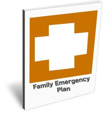 Family Emergency Plan ebook image Emergency Preparedness