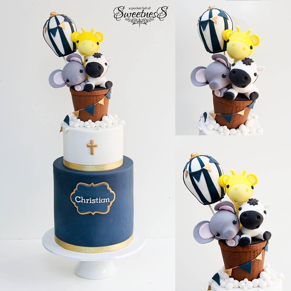 Super cute Christening Cake