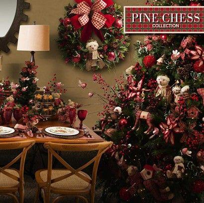 Porta vela de natal pinecone vermelho e verde -tamanho pequeno 7x5x6cm