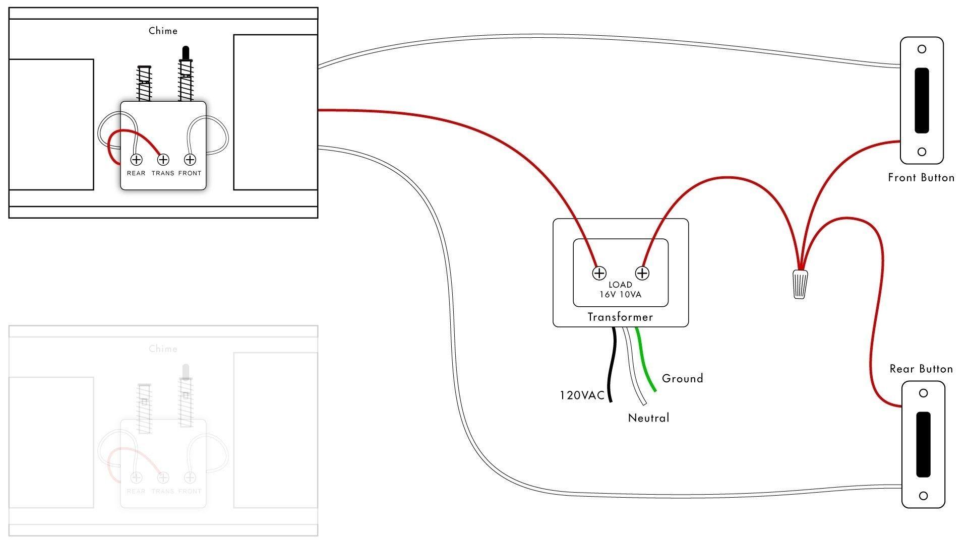 Doorbell Wiring Diagram Tutorial In