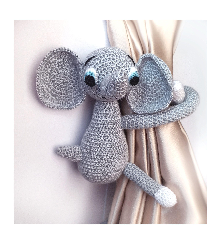 Elephant Curtain Tie Back 1 Pcs Dumbo Animal Curtain Tie Backs