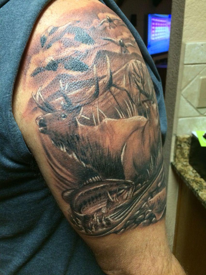 elk tattoo tattoos pinterest elk tattoo tattoos and elk. Black Bedroom Furniture Sets. Home Design Ideas
