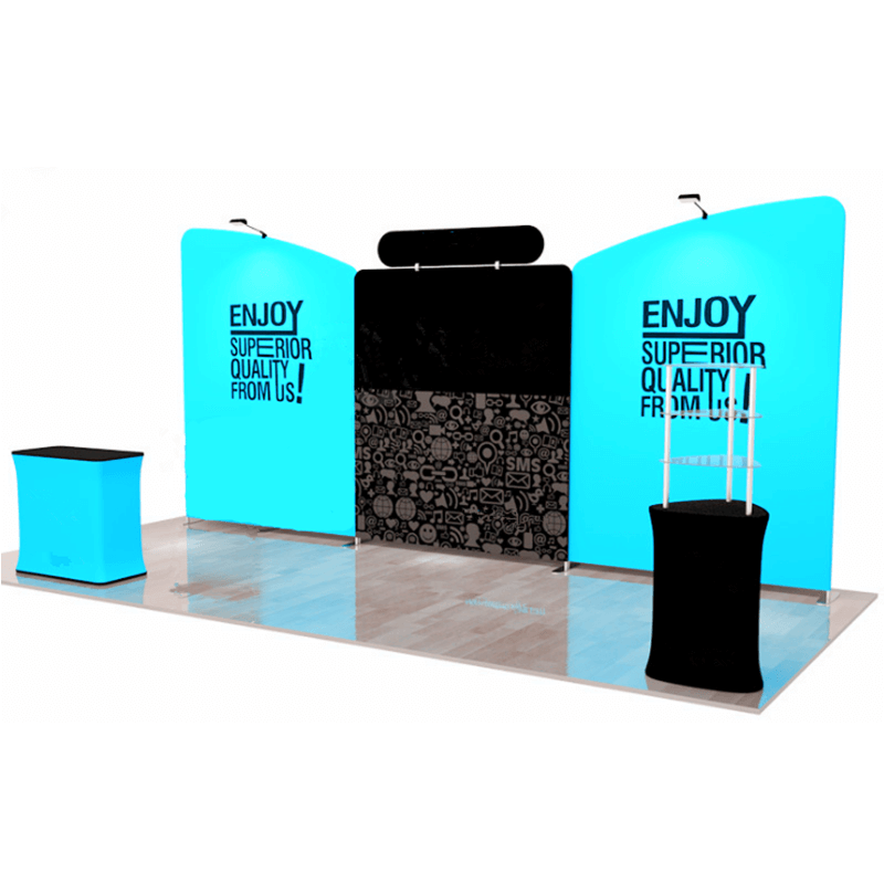 Expo Stand Backdrop : 20ft*8ft trade show backdrop e03e1 tension fabric display fabric