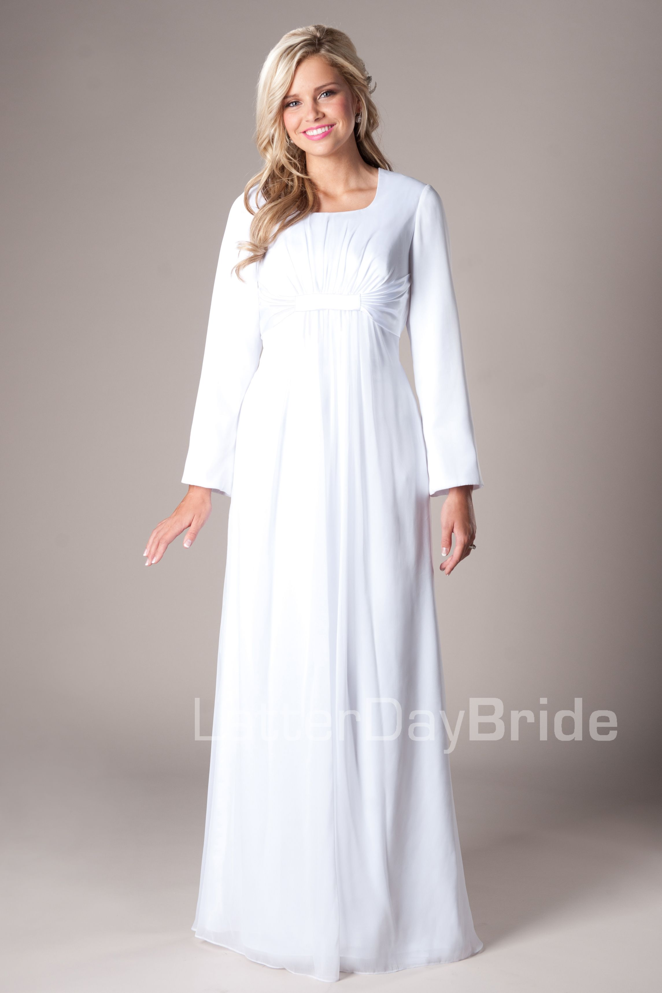 Oakland -Modest Mormon LDS Temple Dress   Temple Dresses   Pinterest