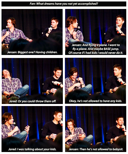 Why Jensen Said Jared Wasn T Allowed To Babysit His Children 3
