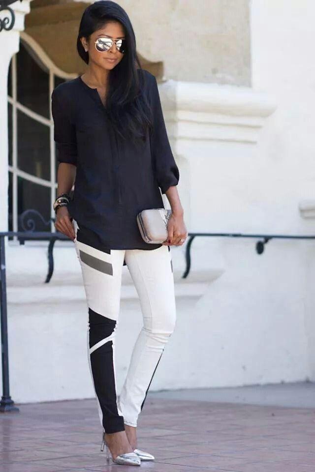 Hermoso pantalon estructurado