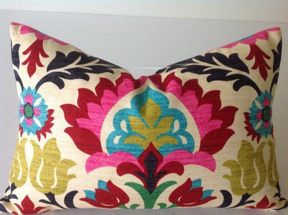 Floral Pillows Pillows Decorative Throw Pillows Designer by DEKOWE